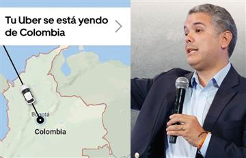 Hasta por discriminación, Uber prepara demanda contra Colombia
