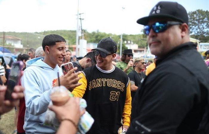 Daddy Yankee mostró su lado más solidario con sus compatriotas. Foto: Twitter