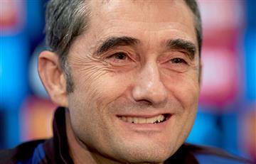 """""""Gracias y mucha suerte"""" le dice Barcelona a Valverde"""