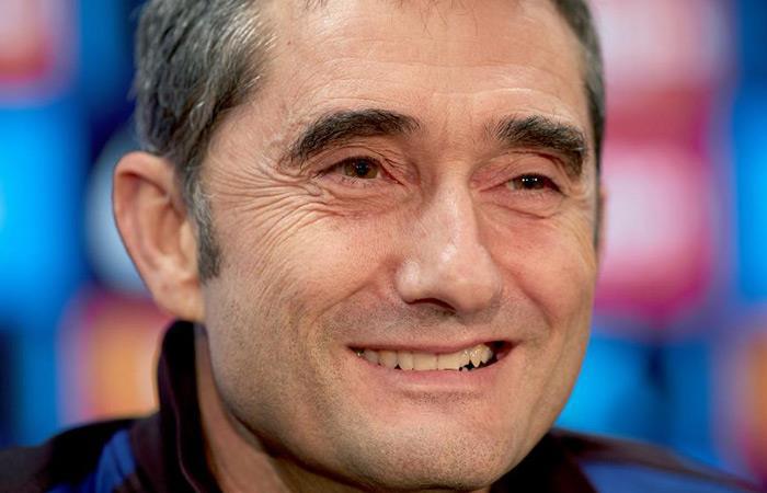 Ernesto Valverde sale de la dirección técnica de Barcelona. Foto: EFE