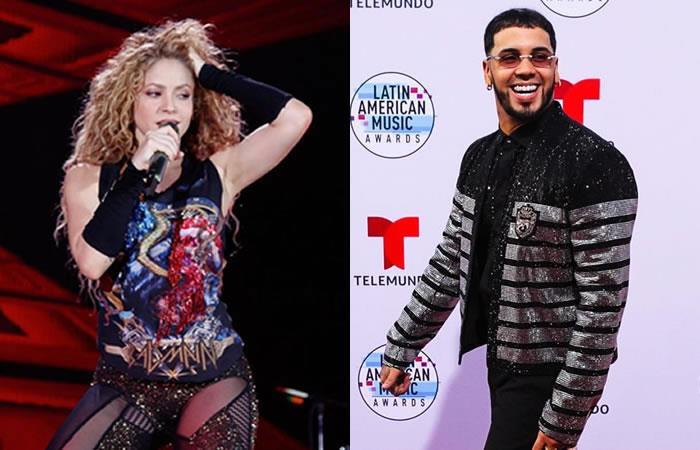 Shakira estrena canción 'Me gusta' con Anuel AA