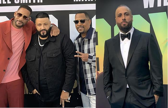Will Smith, Martin Lawrence y Nicky Jam en