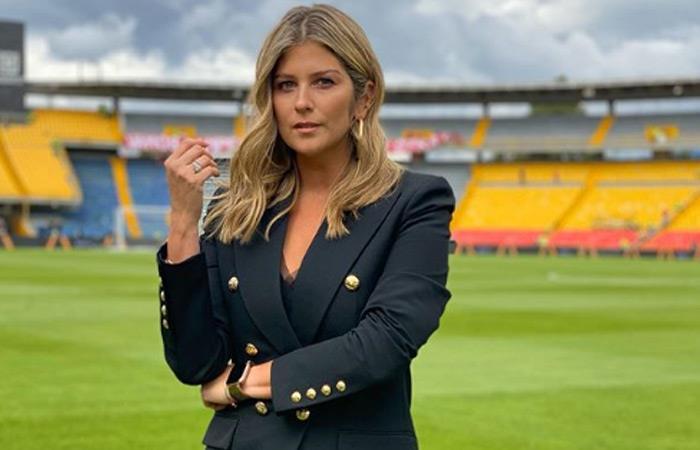 Andrea Guerrero, periodista deportiva. Foto: Instagram