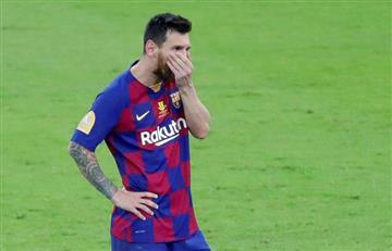 """""""Sos una magnífica persona"""" así se despidió Messi de Valverde"""