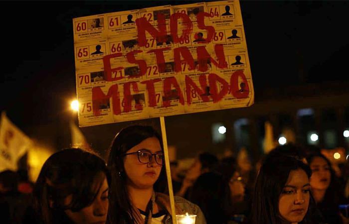 Más de 100 defensores de derechos humanos fueron asesinados en 2019 en Colombia. Foto: Twitter