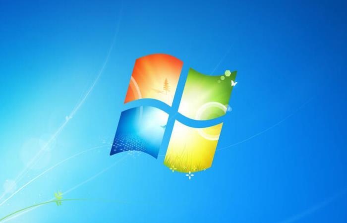 Logo de Windows 7. Foto: Twitter