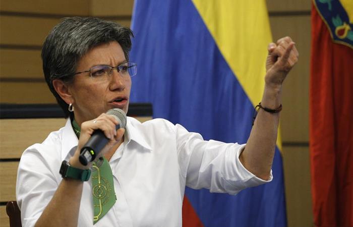 Claudia López apoyo paro nacional 21 de enero