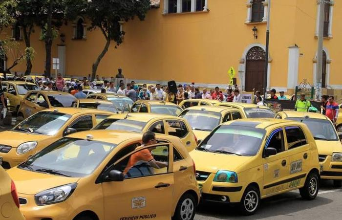 Cupo taxis Colombia