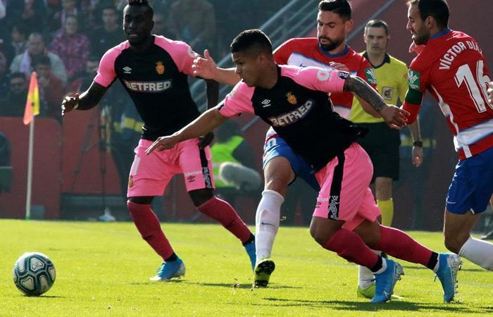 EL 'Cucho' Hernández ya está en plenitud de condiciones con Mallorca. Foto: EFE