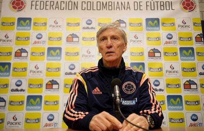 José Pékerman dirigió a la Selección Colombia. Foto: EFE