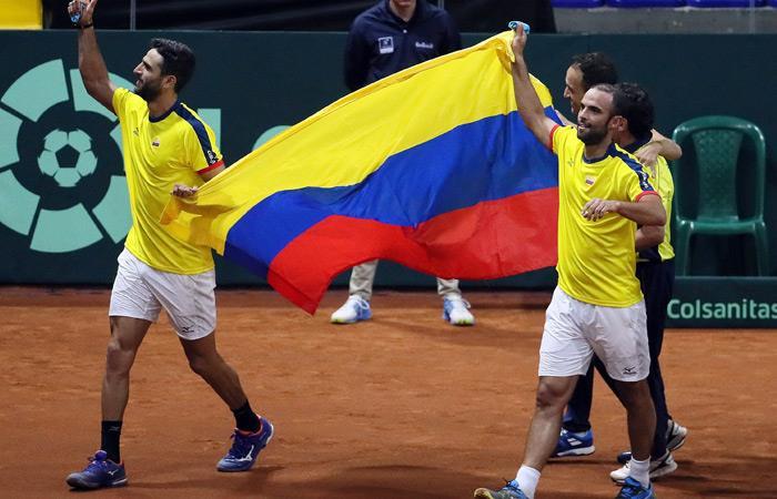 Juan Sebastián Cabal y Robert Farah son la pareja número uno del mundo. Foto: EFE