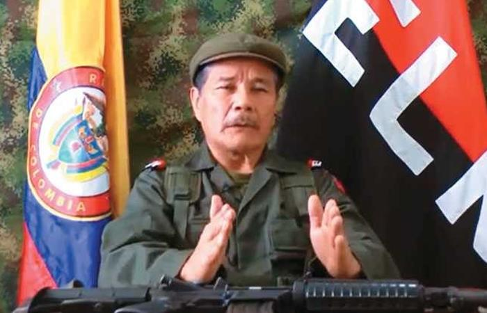 Alias 'Gabino', máximo líder del ELN. Foto: Twitter