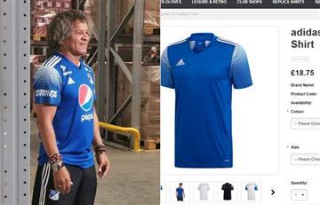 Indignación en los hinchas de Millos porque la camiseta es copia de una genérica