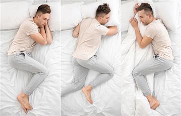 Estas son las posiciones para dormir más comunes de los colombianos