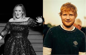 Adele y Ed Sheeran, son consederados como los artistas más influyentes de los últimos años