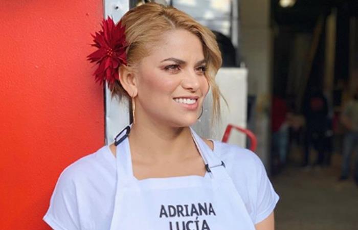 Cancelan contrato de Adriana Lucia en RCN