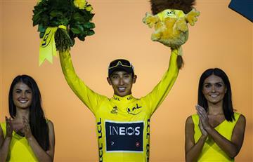 Egan Bernal será el líder del Team INEOS en el Tour de Francia