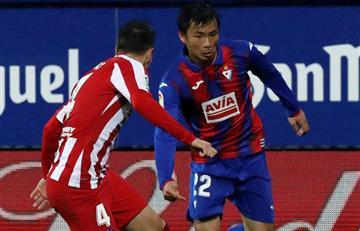 Con 'Santi' Arias como titular, Atlético de Madrid sufre penosa derrota ante un colero