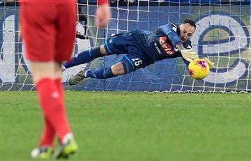 Nápoles, con David Ospina, cayó ante Fiorentina y sigue su mala racha
