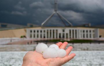 Ahora es la lluvia: Tormenta de granizo causa graves daños en Australia