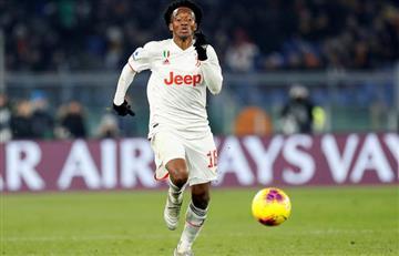 Por enfermedad, Cuadrado es baja de Juventus