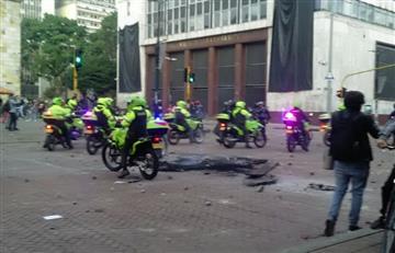Así llegaron las primeras movilizaciones a la Plaza de Bolívar