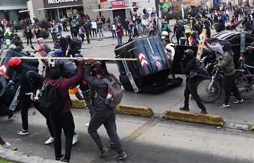 Alcaldía: 47 detenidos y 6 estaciones TM vandalizadas en el primer reporte