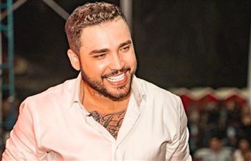 """Jessi Uribe se llevó tremendo susto por culpa de una """"explosión"""" en medio de un concierto"""