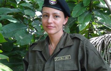 Exguerrillera holandesa se retira del partido de la FARC