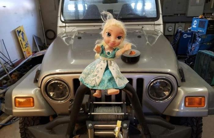 Muñeca de 'Frozen' embrujada en Estados Unidos