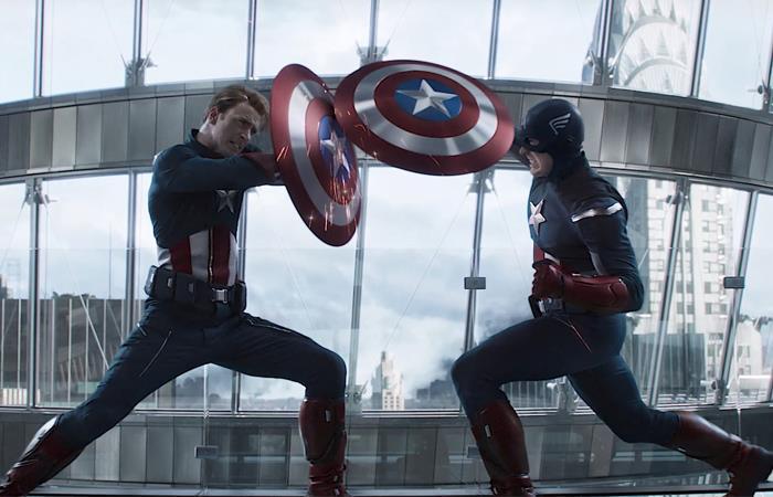 Nuevo Capitán América Falcon and the Winter Soldier Chris Evans