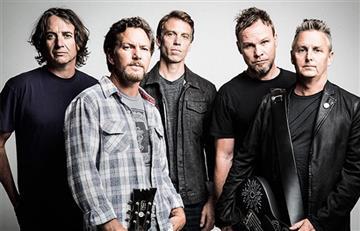 Pearl Jam estrenó nueva canción a siete años de su último disco