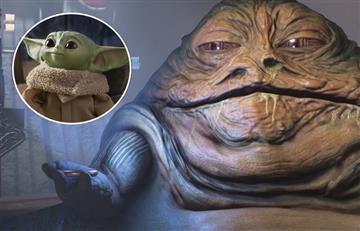 A Baby Yoda le salió competencia y ahora Jabba tendrá su versión bebé