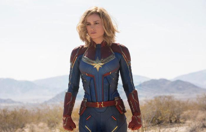 Capitana Marvel tuvo un gran éxito en su primera cinta. Foto: Twitter