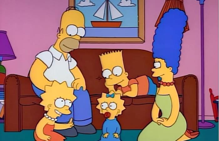 Los Simpson una vez más lo habían anunciado. Foto: Instagram