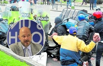 ONU se preocupa por violencia contra policías en Bogotá