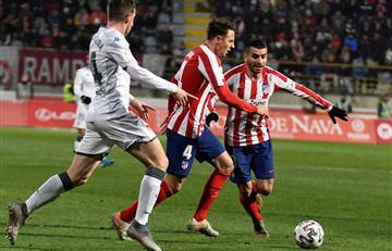 Atlético de Madrid es eliminado por un equipo de la segunda B de España