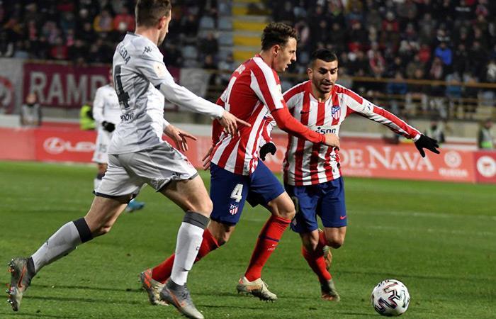 Resultados Copa del Rey Partido Cultural Leonesa Atlético de Madrid Santiago Arias