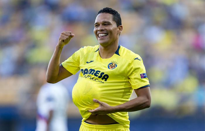Carlos Bacca no se desespera pese a su mala racha con Villarreal