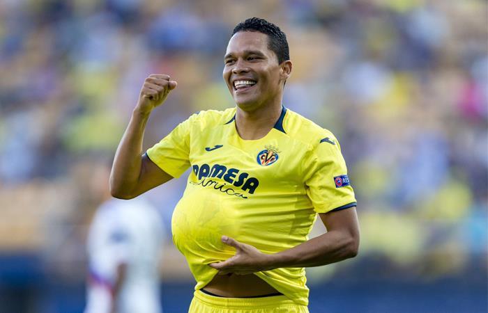 Carlos Bacca no ha podido anotar gol recientemente. Foto: Twitter