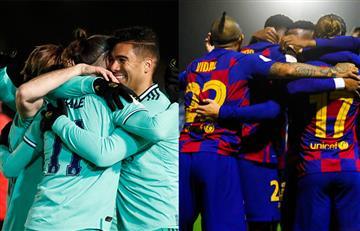 Se definieron los rivales de Barcelona y Real Madrid en octavos de la Copa del Rey