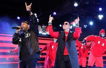 """Daddy Yankee y Nicky Jam brillaron en Times Square con su éxito """"Muévelo"""""""
