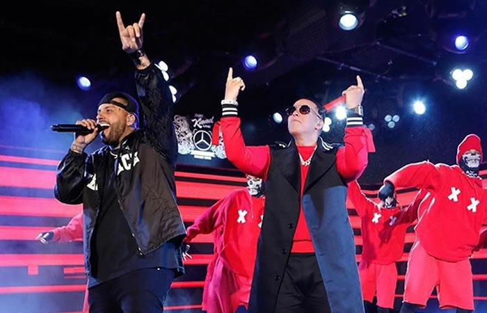 Daddy Yankee y Nicky Jam Times Square