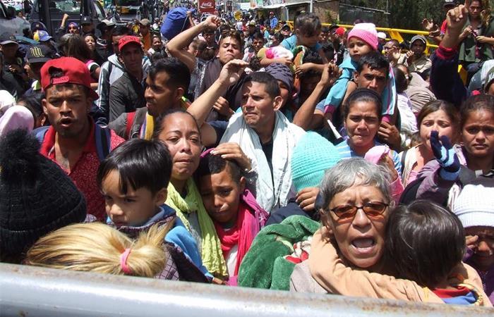 Migrantes venezolanos Subsidios Colombia