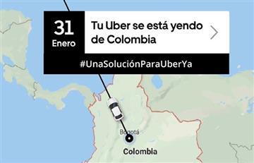 Promueven petición Charge.org para que Uber se quede en Colombia