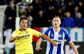 [VIDEO] Gracias a Carlos Bacca, Villarreal derrotó a Alavés