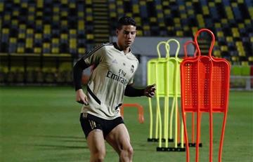 James Rodríguez vuelve a la convocatoria de Real Madrid para enfrentar a Valladolid