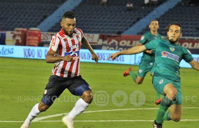 Liga BetPlay Resultado goles Junior vs La Equidad fecha 1 Miguel Borja