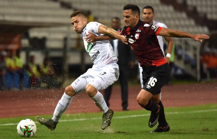 Once Caldas y Santa Fe debutaron con empate en la Liga BetPlay
