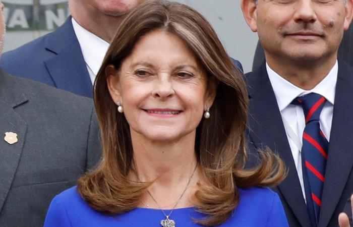 Marta Lucía Ramírez, vicepresidente de Colombia. Foto: EFE